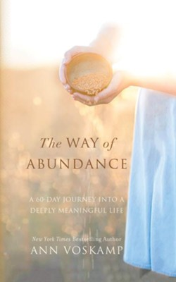 The Way of Abundance: A 60-Day Journey into a Deeply Meaningful Life - unabridged audiobook on CD  -     By: Ann Voskamp