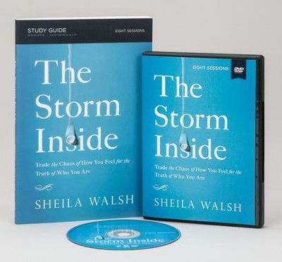 The Storm Inside Study Pack, DVD with Study Guide   -     By: Sheila Walsh