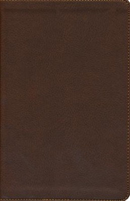 NKJV Ultraslim Bible, Leathersoft, earth brown  -