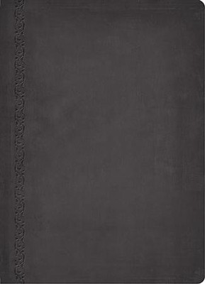 NIV MacArthur Study Bible Leathersoft, Raven - Imperfectly Imprinted Bibles  -