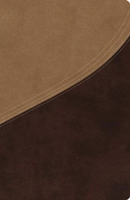 NIV MacArthur Study Bible Leathersoft Earth Brown & Brown Sugar  -     By: John MacArthur