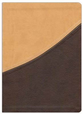 NIV MacArthur Study Bible Leathersoft Earth Brown & Brown Sugar Indexed  -     By: John MacArthur