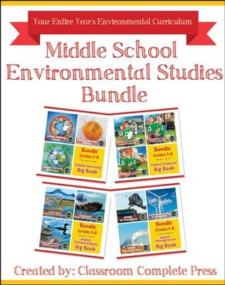 Middle School Environmental Studies Bundle, Grades 5-8   -