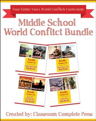 Middle School World Conflicts Bundle, Grades 5-8   -