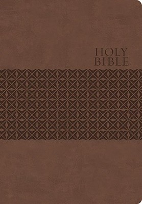 King James Study Bible, Second Edition, Leathersoft, Earth Brown  -