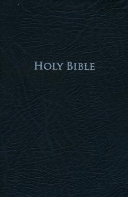 King James Study Bible, Second Edition, Bonded Leather, Black  -