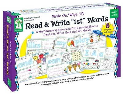 Read & Write 1st First Words Game  -     By: Sherrill B. Flora