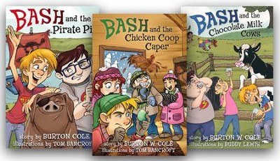 Bash Series, 3 Volumes  -     By: Burton W. Cole