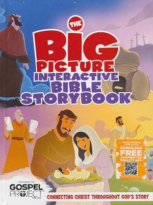 The Big Picture Interactive Bible Storybook: Connecting Christ Throughout God's Story  -     By: Heath McPherson