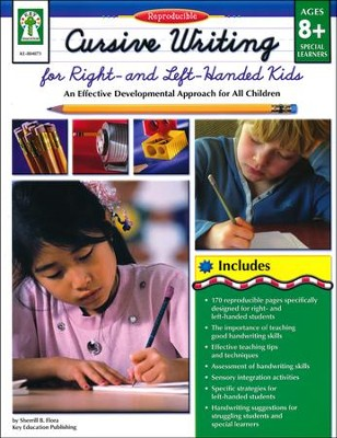 Cursive Writing for Right- and Left-Handed Kids   -     By: Sherrill B. Flora