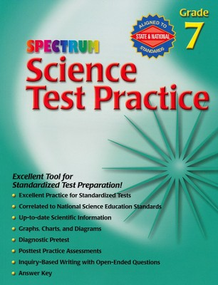 Spectrum Science Test Practice Grade 7   -