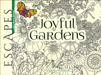 Joyful Gardens Coloring Book