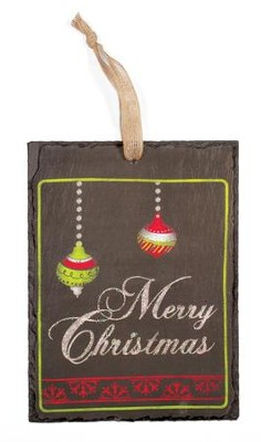 Merry Christmas Wall Plaque  -