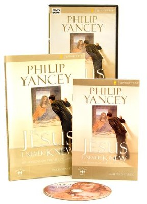 The Jesus I Never Knew Participant's Guide with DVD: Six Sessions on the Life of Christ  -     By: Philip Yancey