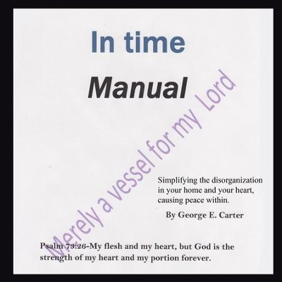 In time Manual - eBook  -     By: George Carter