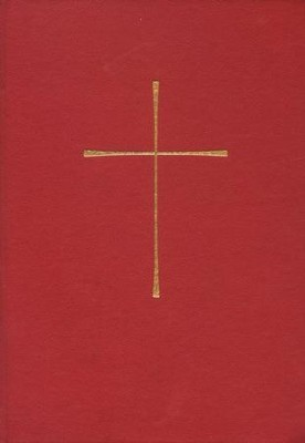1979 Book of Common Prayer, Personal Edition, Hardcover, Red  -