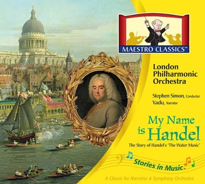 My Name is Handel: The Story of Water Music Audio CD & Activity Book  -
