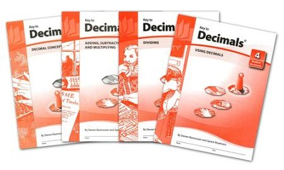 Key To Decimals, Books 1-4   -