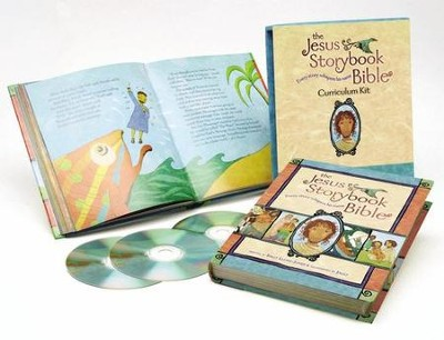The Jesus Storybook Bible Curriculum Kit  -     Narrated By: David Suchet     By: Sally Lloyd-Jones, Sam Shammas     Illustrated By: Jago