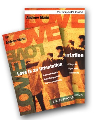 Love Is an Orientation Participant's Guide with DVD: Practical Ways to Build Bridges with the Gay Community  -     By: Andrew Marin, Ginny Olson