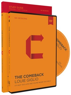 The Comeback: It's Not Too Late and You're Never Too Far, Study Guide and DVD Pack  -     By: Louie Giglio