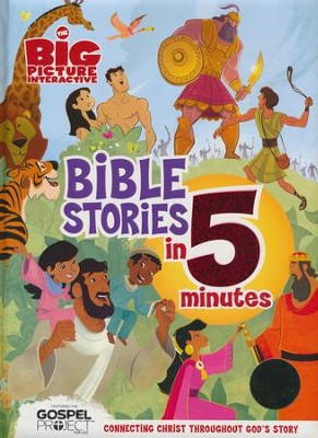 The Big Picture Interactive Bible Stories in 5 Minutes  -     By: Heath McPherson
