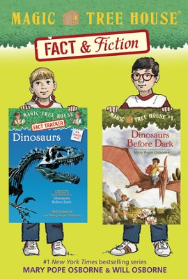 Magic Tree House Fact & Fiction: Dinosaurs / Combined volume - eBook  -     By: Mary Pope Osborne, Will Osborne     Illustrated By: Sal Murdocca