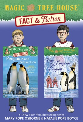 Magic Tree House Fact & Fiction: Penguins / Combined volume - eBook  -     By: Mary Pope Osborne, Natalie Pope Boyce     Illustrated By: Sal Murdocca