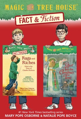 Magic Tree House Fact & Fiction: Charles Dickens / Combined volume - eBook  -     By: Mary Pope Osborne, Natalie Pope Boyce     Illustrated By: Sal Murdocca