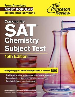 Cracking the SAT Chemistry Subject Test, 15th Edition - eBook  -     By: Princeton Review