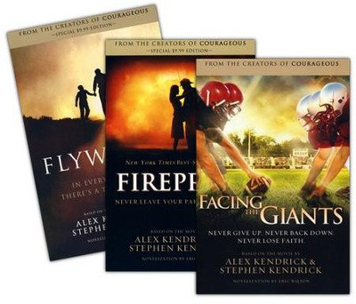 Fireproof, Facing the Giant,s and Flywheel, paperbacks 3 pack  -     By: Alex Kendrick