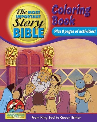 Coloring and Activity Book, Volume 2: From King Saul to Queen Esther  -     By: Dr. David Hunt