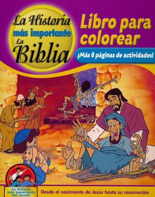 Coloring and Activity Book, Volume 3: From the Birth of Jesus to The Resurrection - Spanish edition  -     By: Dr. David Hunt