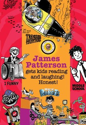 James Patterson's Bestselling Kids' Series - Chapter Sampler / Digital original - eBook  -     By: James Patterson
