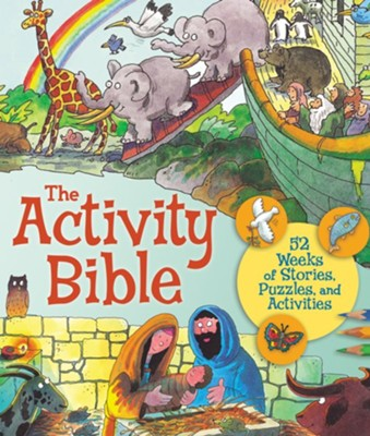 The Activity Bible: 52 Weeks of Stories, Puzzles, and Activities    -