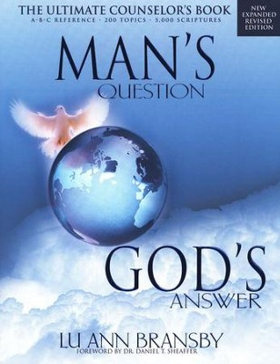 Man's Question, God's Answer   -     By: Lu Ann Bransby