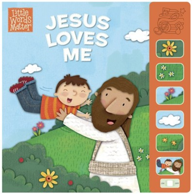Jesus Loves Me Sound Book  -     Illustrated By: Holli Conger