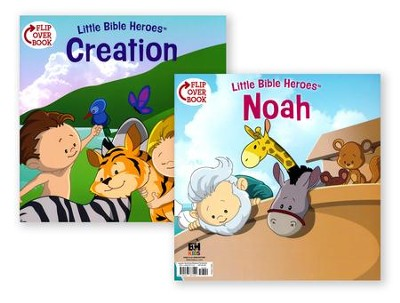Creation/Noah Flip-Over Book  -     By: Victoria Kovacs     Illustrated By: Mike Krome