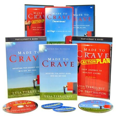 Made to Crave Ministry Kit: Twelve Sessions to a Better You  -     By: Lysa TerKeurst