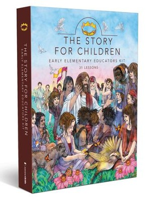The Story for Children with CD-ROM: Early Elementary Educators Kit  -     By: Zondervan