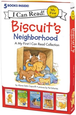 Biscuit's Neighborhood, 5 Stories (Boxed Set)  -     By: Alyssa Satin Capucilli     Illustrated By: Pat Schories