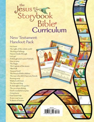 The Jesus Storybook Bible Curriculum New Testament Handout Pack  -     By: Sally Lloyd-Jones, Sam Shammas