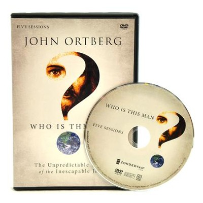 Who Is This Man?, DVD Study    -     By: John Ortberg