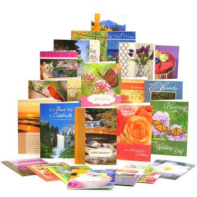 All Occasion Assorted Cards, Box of 48  -