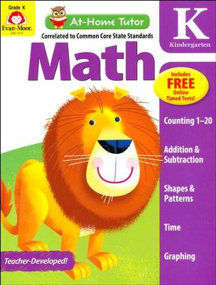 At-Home Tutor: Math, Grade K     -