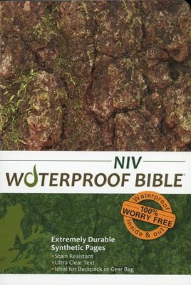 NIV Waterproof Bible, Camouflage  -