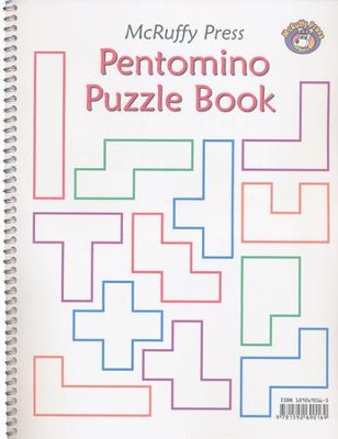 McRuffy Press Pentomino Puzzle Book   -