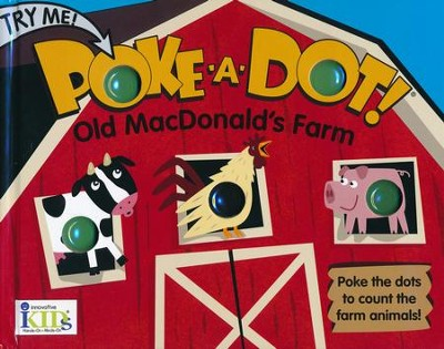 Poke-A-Dot! Old MacDonald's Farm  - board book   -     By: Travis King     Illustrated By: Lucy Schultz