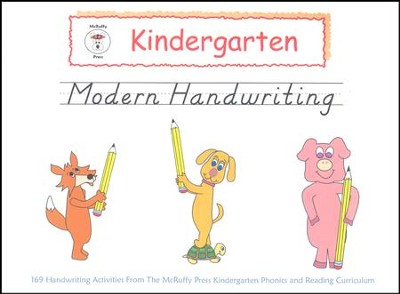 McRuffy Handwriting Series: Modern--Grade K  -