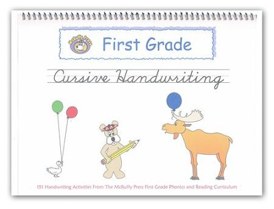 McRuffy Handwriting Series: Cursive--Grade 1  -